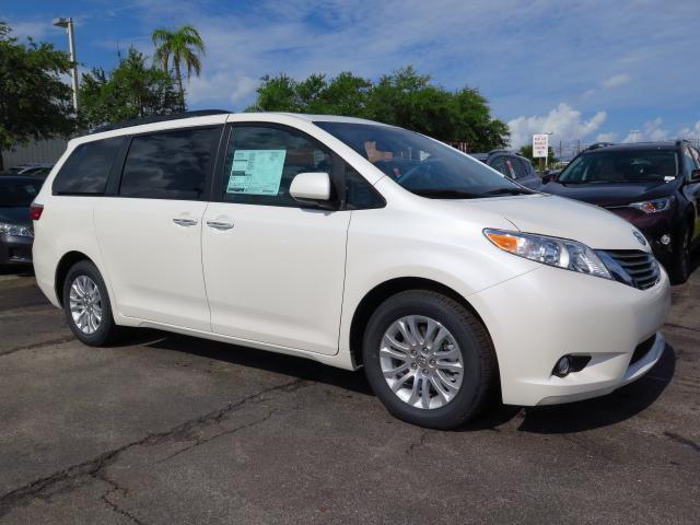 new 2016 toyota sienna xle mini van passenger in tampa 163438 stadium toyota. Black Bedroom Furniture Sets. Home Design Ideas