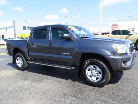 certified pre owned 2015 toyota tacoma prerunner crew cab pickup in tampa 162053a stadium toyota. Black Bedroom Furniture Sets. Home Design Ideas
